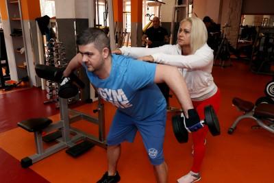 Kövér Georgina - Személyi edzés közben 1