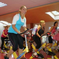 Spining edzésen és még jól.. :)